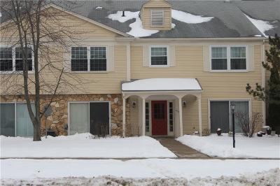 Auburn Hills Condo/Townhouse For Sale: 833 Bloomfield Village Blvd Blvd