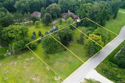 Clinton Township Residential Lots & Land For Sale: 37598 Paula Ct