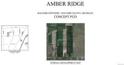 Macomb MI Residential Lots & Land For Sale: $6,400,000
