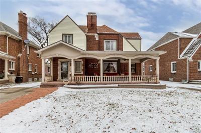 Dearborn Single Family Home For Sale: 6822 Oakman Blvd