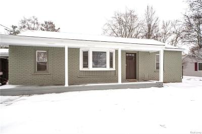 Rochester Hills Single Family Home For Sale: 1881 June Ave