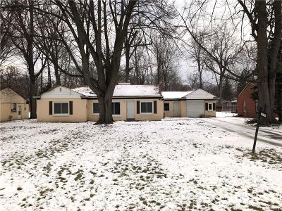 Southfield Single Family Home For Sale: 18726 Midway Ave