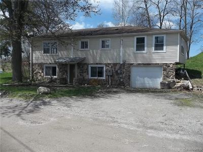 Lapeer Single Family Home For Sale: 1128 Wilson Dr