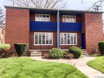 Detroit Multi Family Home For Sale: 4099 W Buena Vista St