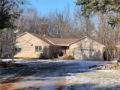 Lapeer Single Family Home For Sale: 5068 Curtis Rd