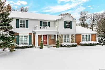 Bloomfield Hills Single Family Home For Sale: 315 Hamilton Rd
