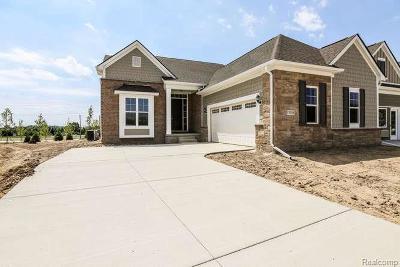 Northville Condo/Townhouse For Sale: 17105 Garden Ridge Ln