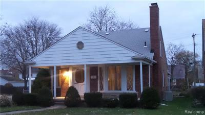 Dearborn Single Family Home For Sale: 1650 Nightingale St