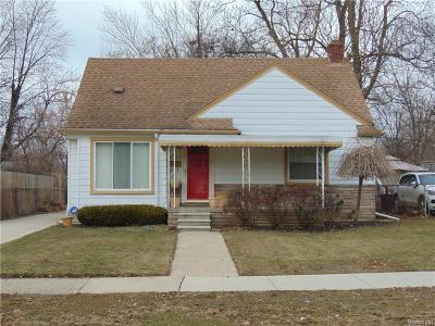 Southfield Single Family Home For Sale: 28457 Everett St