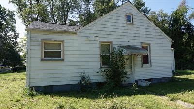 Detroit Single Family Home For Sale: 19535 Lenore