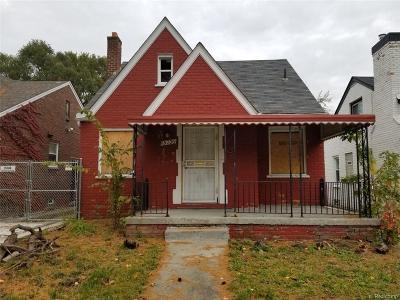 Detroit Single Family Home For Sale: 15736 Coyle St