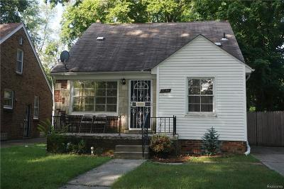 Detroit Single Family Home For Sale: 16189 W Parkway St