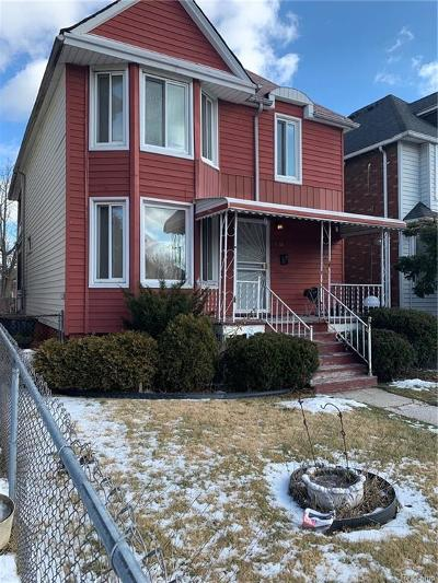 Detroit Single Family Home For Sale: 5166 Iroquois St
