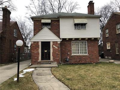 Detroit Single Family Home For Sale: 17367 Huntington Rd