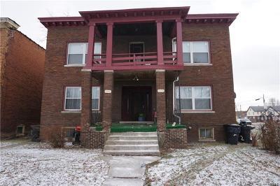 Detroit Multi Family Home For Sale: 222 Kenilworth St