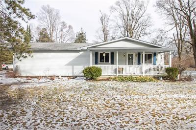 Belleville Single Family Home For Sale: 18291 Martinsville Rd