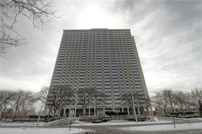 Detroit Condo/Townhouse For Sale: 1300 E Lafayette St