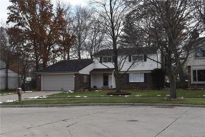 Westland Single Family Home For Sale: 34435 Deborah Crt