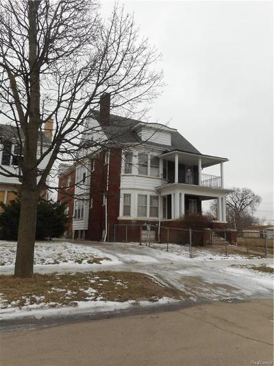 Detroit Multi Family Home For Sale: 1183 Burlingame St