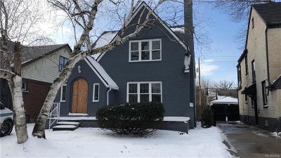 Detroit Single Family Home For Sale: 5519 Balfour
