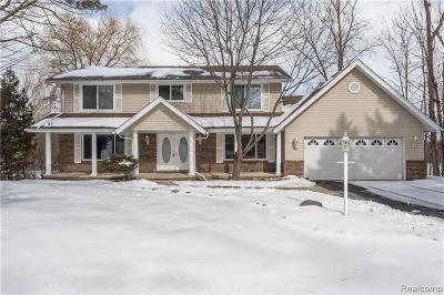 Oakland Single Family Home For Sale: 5860 Glen Eagles Dr