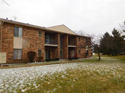 Sterling Heights MI Condo/Townhouse For Sale: $74,900