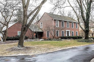 Oakland Single Family Home For Sale: 32370 Lahser Rd