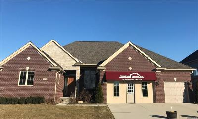 Macomb MI Single Family Home For Sale: $493,900