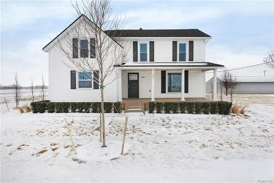 Lapeer Single Family Home For Sale: 3971 Glover Rd