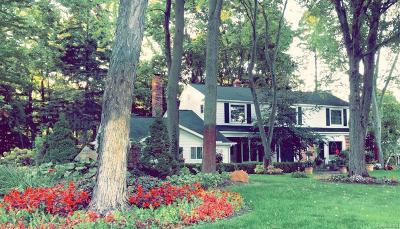 Northville Single Family Home For Sale: 46126 Pickford Crt