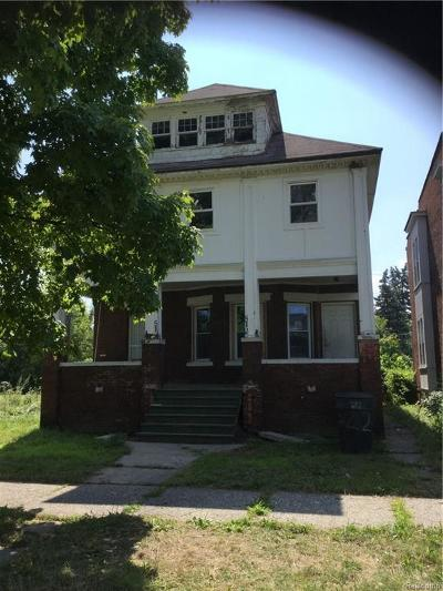 Detroit Multi Family Home For Sale: 512 E Westminster St