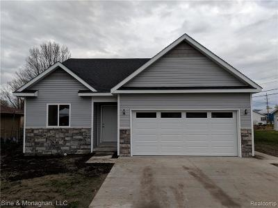 Algonac Single Family Home For Sale: 3280 Pointe Tremble