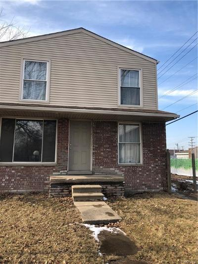 Detroit Single Family Home For Sale: 1024 Ethel