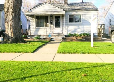 Wayne Single Family Home For Sale: 2326 Fisher St