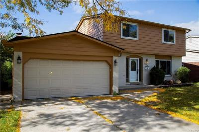 Sterling Heights Single Family Home For Sale: 36843 Kyro Crt