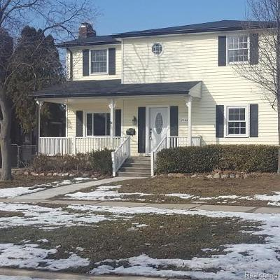 Saint Clair Shores Single Family Home For Sale: 22467 Saint Clair