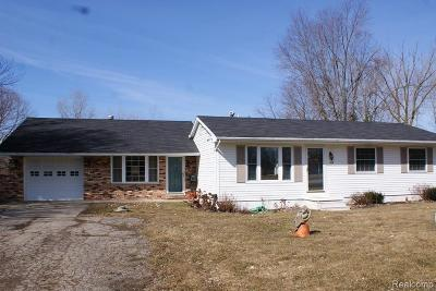 Lapeer Single Family Home For Sale: 2171 Farnsworth