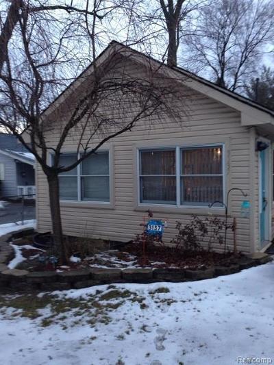 Auburn Hills Single Family Home For Sale: 3137 Margaret St