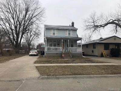 Taylor Single Family Home For Sale: 6368 Hazel St