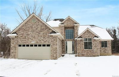 Shelby Twp Single Family Home For Sale: 7045 24 Mile Rd