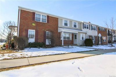 Northville Condo/Townhouse For Sale: 19557 Mariner Crt
