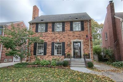 Grosse Pointe Farms Single Family Home For Sale: 336 Merriweather Rd