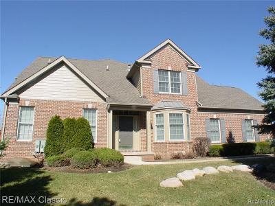 Northville Condo/Townhouse For Sale: 44917 Broadmoor Cir S