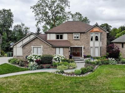 Shelby Twp Single Family Home For Sale: 56761 Copperfield Dr