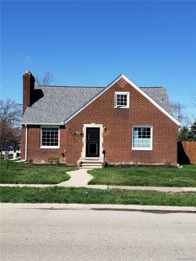 Southgate Single Family Home For Sale: 13280 Poplar St