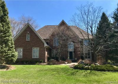 Rochester Hills Single Family Home For Sale: 1806 Westridge Dr