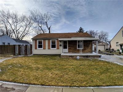Southgate Single Family Home For Sale: 13158 Helen St