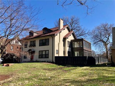 Detroit Single Family Home For Sale: 1796 Burns St