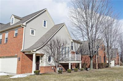 Sterling Heights Condo/Townhouse For Sale: 43456 Pendleton Cir