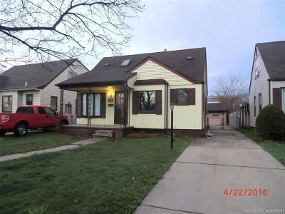 Allen Park Single Family Home For Sale: 15879 Hanover Ave